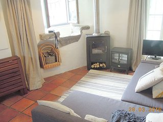 2 bedrhouse with roof terrace overlooking the Corbiere hills on the Cana du Midi