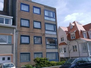 Appartement (4 p) direct aan zee en strand in Oostende