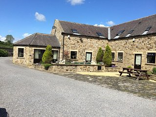 The Gin Gang. Large barn conversion ideal for families. Sleeps 10.