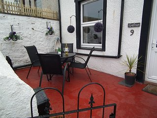 Traditional miners cottage in unique position on Great Orme, Llandudno sleeps 5.