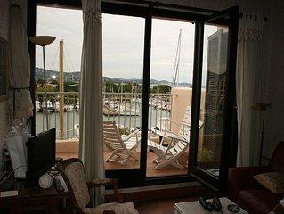 Bel appartement sur le golfe de St Tropez