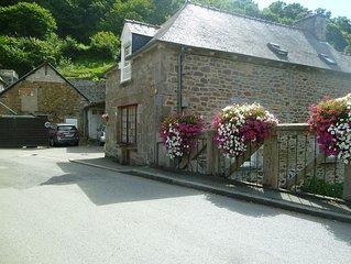 Gite in Beautiful Jugon Les Lacs, Brittany, France