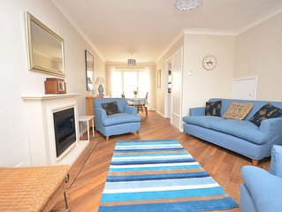 Deal Town centre holiday home in quiet part of High Street with parking