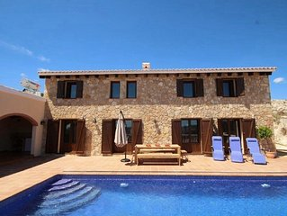 Beautiful stone house retreat with private pool