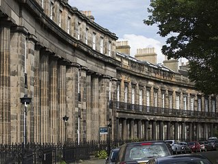 St Bernard's Crescent, beautiful bright and well proportioned 3 bed flat