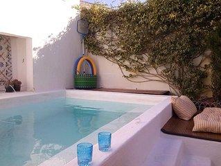 Moradia com piscina perto da praia, com 3 quartos a 5km de Torres Vedras
