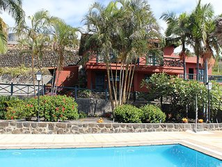Finca La Romera, La Orotava.  Sea views. North Tenerife