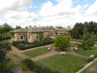 Country House With 90 Hectare Estate Only 45min From Madrid City