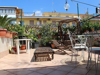 Lovely flat with wonderful private terrace!