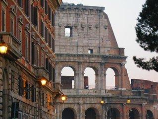Appartamento di fronte al Colosseo - Devi solo attraversare la strada