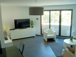 Luxury apartment, perfect for beach and exploring Juan-les-Pins and Antibes,