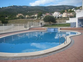 Apartment in Alcossebre with garage, storage and pool