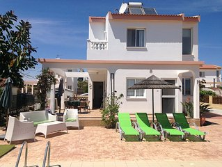 Ayia Thekla attractive 2 bedroom villa with private pool - FREE Wifi