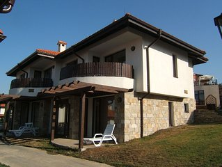 Family villa on resort and spa near sunny beach