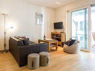 Appartement luxueux situé au centre avec grande terrasse (2 ou 3 personnes)
