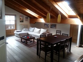 Magnificent penthouse in the area Bormio Residential sileziosa and with panoram