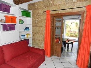 Rdc maison vigneronne 80 m² (6 Pers) Proche mer et ville