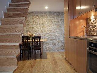 Quelha house recently restored in the historic center of Manteigas village