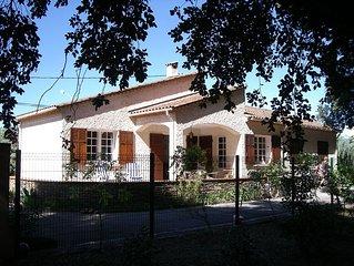 Maison .Villa ***La londe les maures .Region de Hyeres .7 personnes .mer 3km