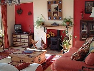 Great Charasmatic Holiday Home in Rural village close Northumbrian Coast