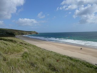 Holiday cottage on a beautiful Cornish beach