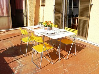 Sunny Penthouse Apartment - Central Rome - Never
