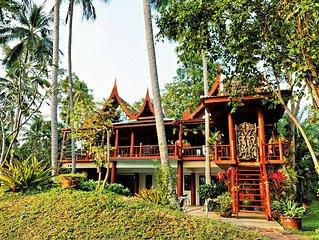 Luxury villa in Laem Set, Koh Samui