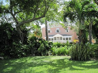 Historic Plantation House in Beautiful Tropical Garden Setting