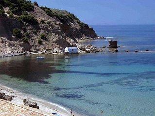 'Casa Cansella' con accesso diretto al mare
