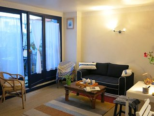 Near Paris and Defense, ideal for leisure or busi