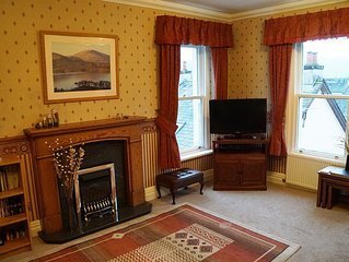 A 2 bedroomed apartment in the middle of Keswick with fantastic mountain views