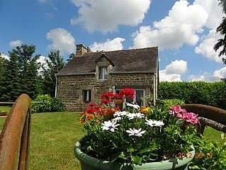 Stand Alone Cottage for privacy and rest. 20% off Brittany Ferries. Book online