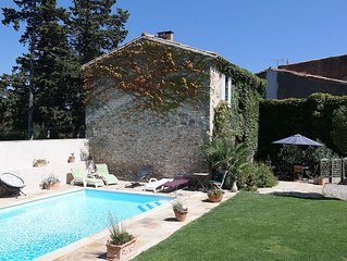 Country farmhouse for family holidays, pool,  free wifi, close to Carcassonne