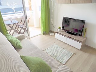 Albir 21 -  Newly refurbished 1 bedroom apartment just 50m from beach