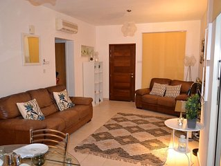 Fabulous homely 3 bedroomed villa near the beach