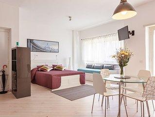 A casa di Mapi a San Pietro, moderno e luminoso open space per 2/3 persone