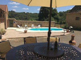 Maison Lajus, a restored Farmhouse With Private Pool