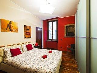 Elegant apartment in historic area of Bergamo upper town, close to Orio Airport