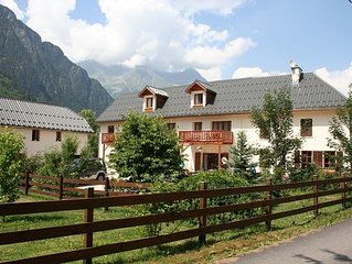 The Barn, Ferme Noemie, Cycle/Ski. Large property, lovely location