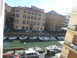 The Tuscan little Venice, straight in the historical and trendy area of Livorno.