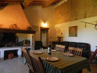Caratteristica Colonica Storica Tipica Toscana con giardino, veranda, barbecue