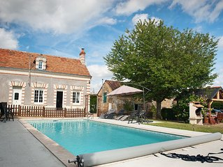 Relax and unwind in 'The Garden of France' in our 4-bedroomed house near Saumur
