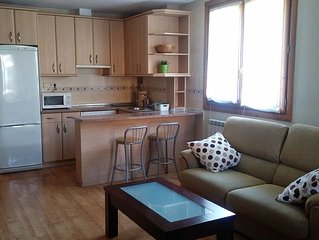 Biescas. Pirineo Aragonés. Apartamento 2 dormitorios 4-6 personas