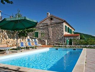 Rural Villas Crikvenica - 'Villa Vesna'- sea view, family friendly, pet friendly