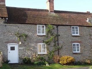 Sycamores Cottage set on working farm near the Dorset Coast.