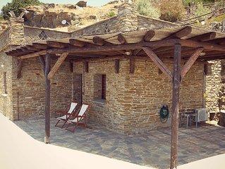 Sea view traditional stone residence 'konaki'- Andros Serenity
