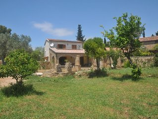 Old Stone Farmhouse newly renovated with a large garden in Castellabate