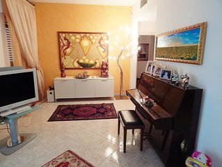 BEAUTIFUL VILLA WIFI+PARKING+GARDEN+A/C IN TORRE A MARE, BARI - PUGLIA, ITALY