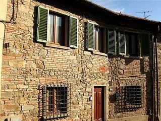 Tipica casa ristrutturata nel cuore della Toscana, area Chianti, Firenze.