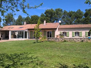 Charming house located in a pine forest at the foot of the city of Carcassonne